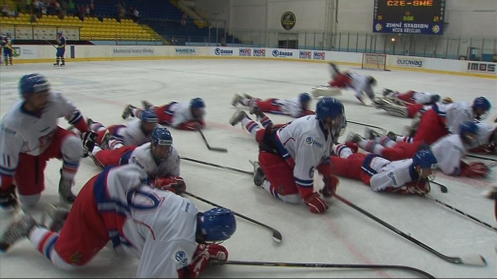 Český výběr se po utkání radoval z postupu do semifinále