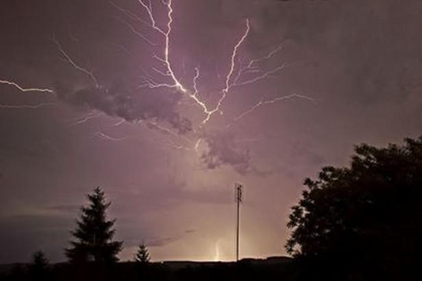 Bouřka v Sokolově