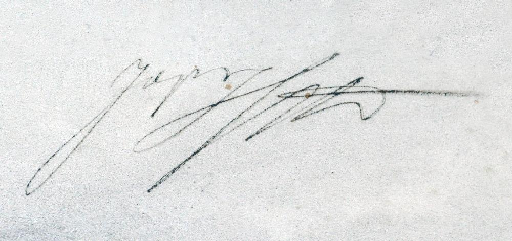 Podpis - Josef II. Habsburský