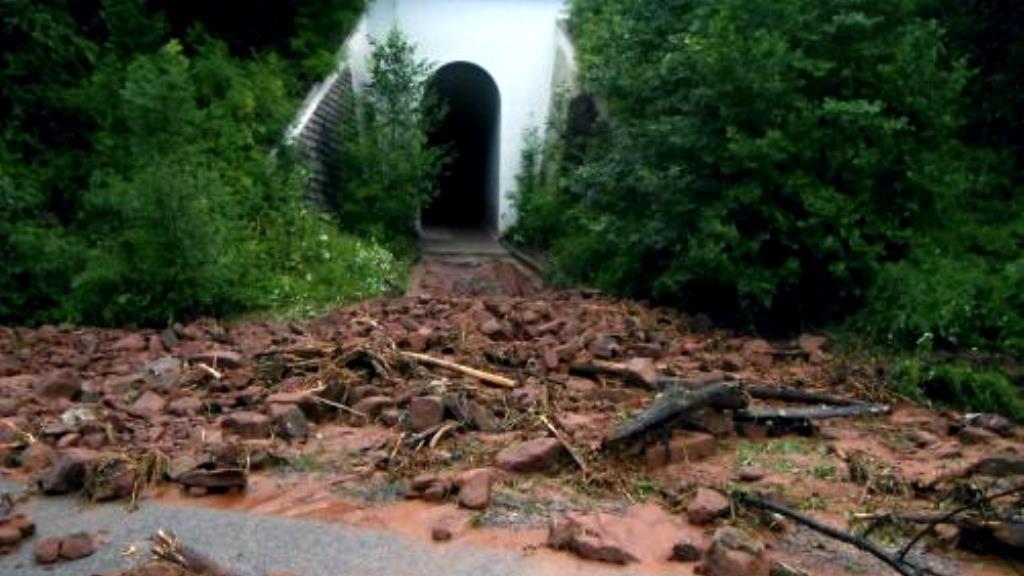 Následky bouřky v Libereckém kraji