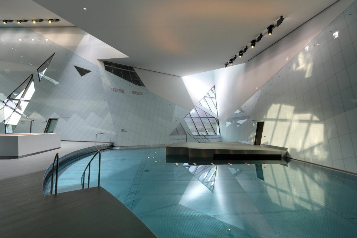 Nákupní a relaxační centrum Westside v Bernu