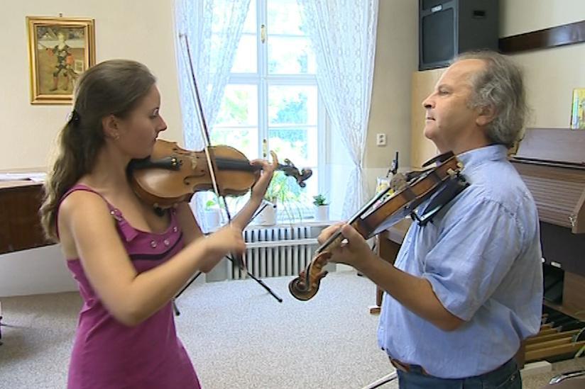 Jednou z Hudečkových žákyň je i Victorie Chrapenko