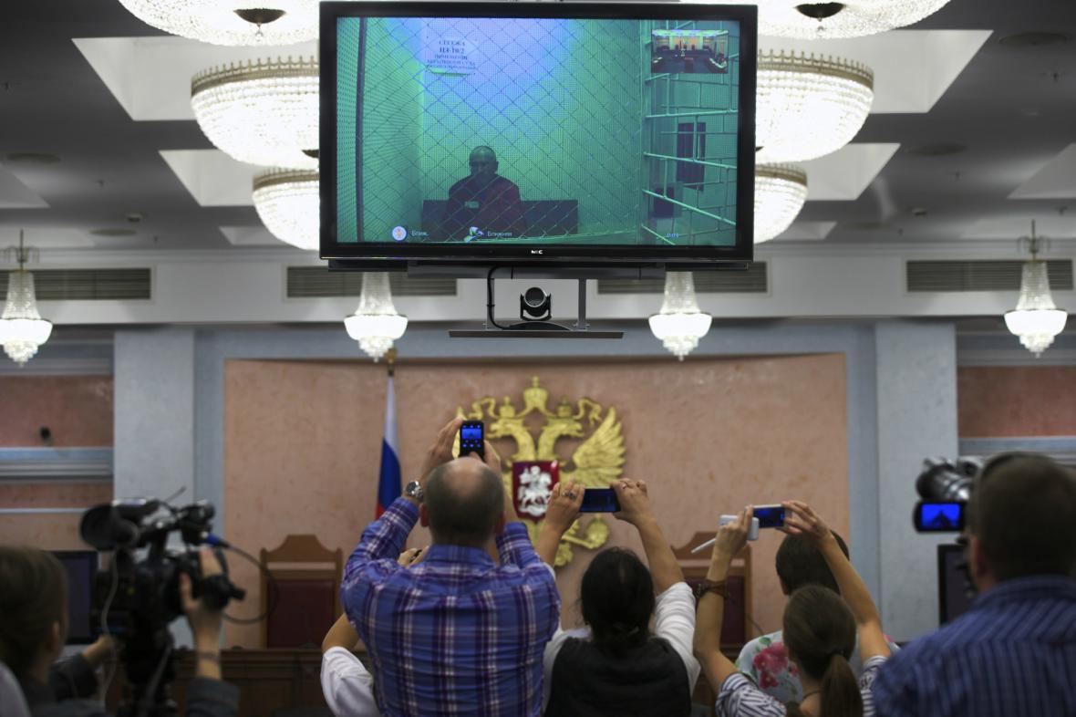 Chodorkovskij přečetl prostřednictvím videokonference prohlášení