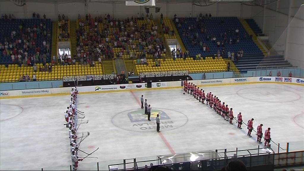Na Hlinkův memoriál se sjeli nejlepší hokejisté do 18 let