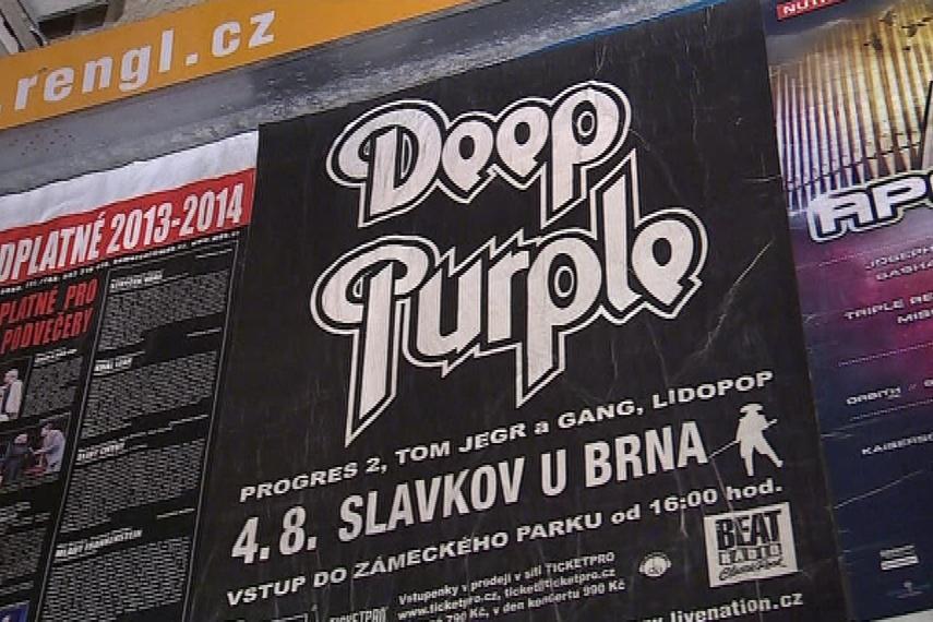 Deep Purple nakonec zahrají dnes