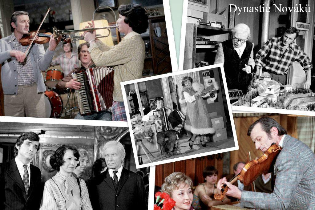 Seriál Dynastie Nováků