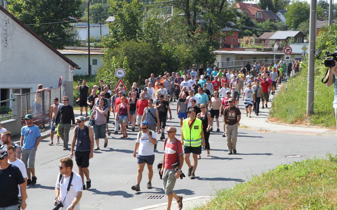 Pochod radikálů ve Vítkově