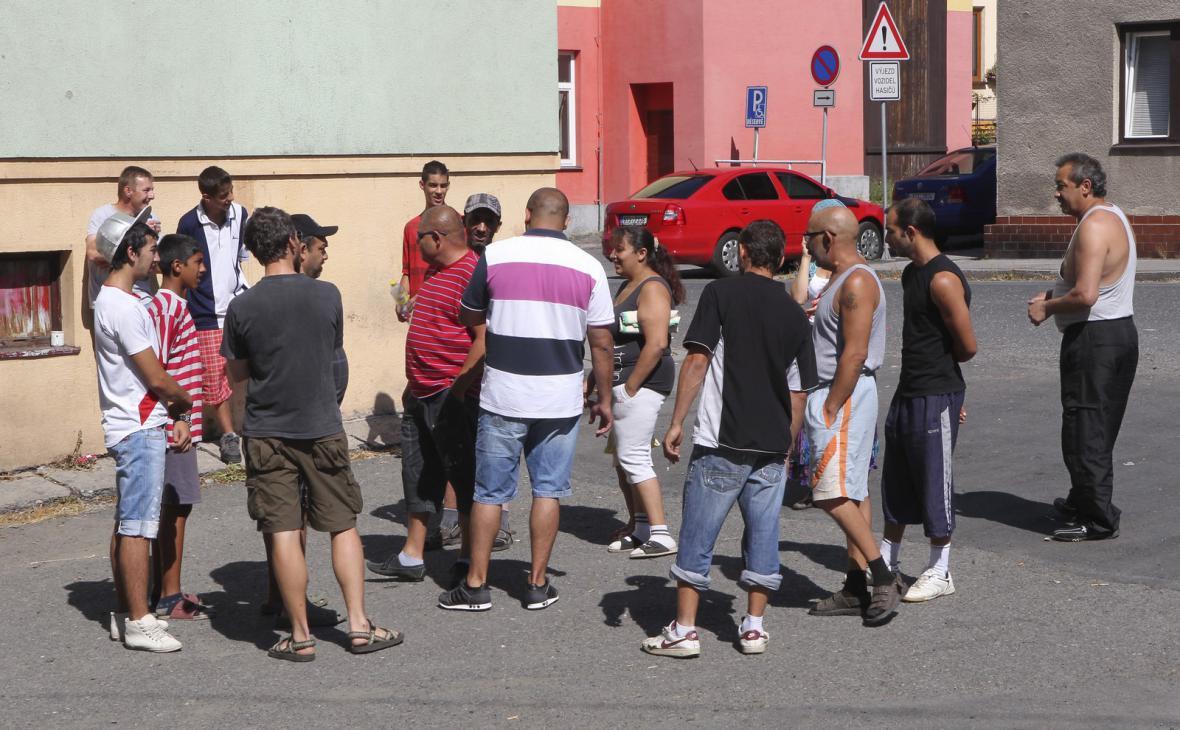 Romové ve Vítkově