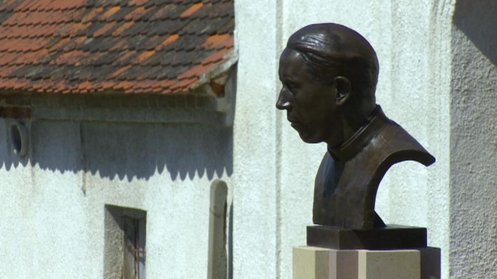 Busta Václava Drboly