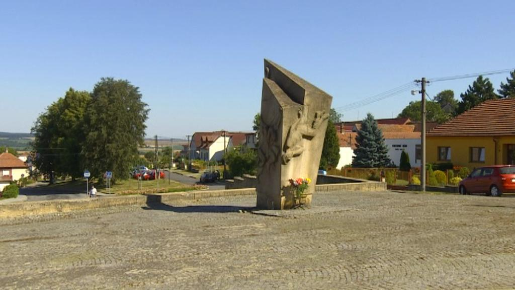 Babický památník z doby normalizace