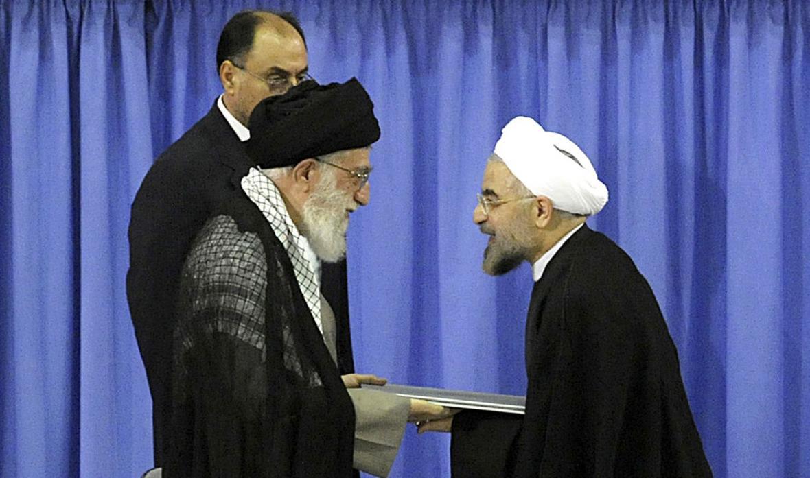 Rouhání se stal íránským prezidentem