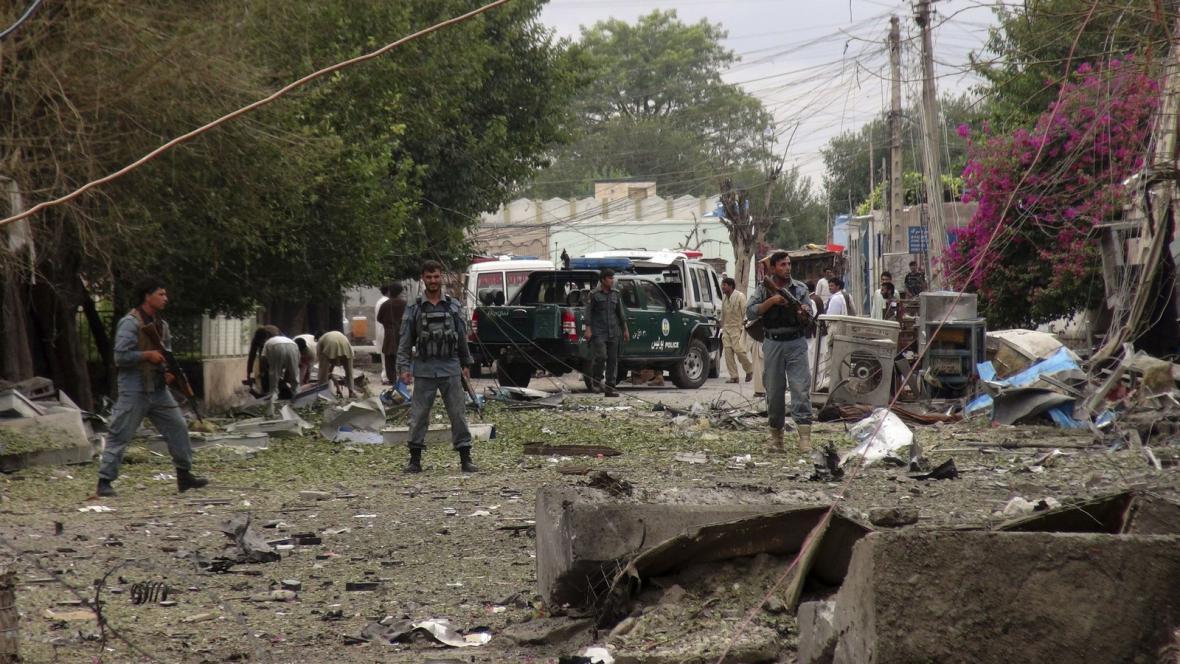 Sebevražedný útok u indického konzulátu v Afghánistánu