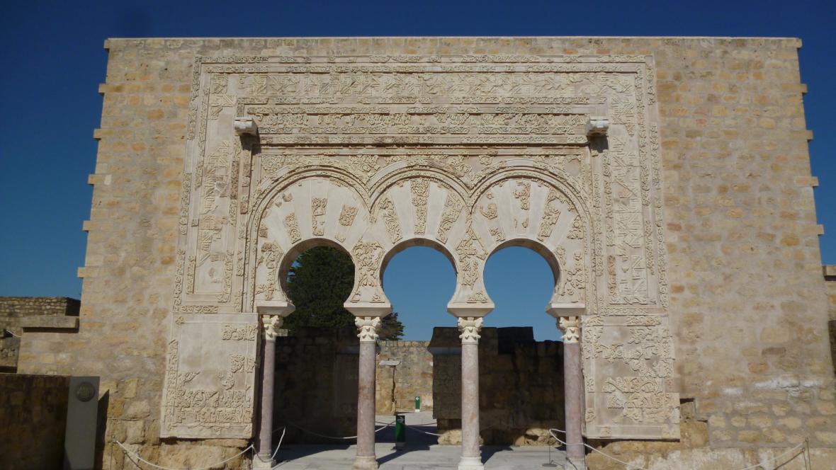 Maurský portál v Medině al-Zahře