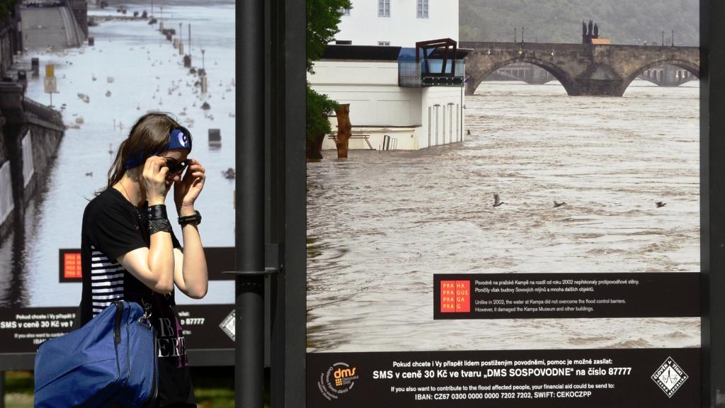 Povodňová výstava na Kampě