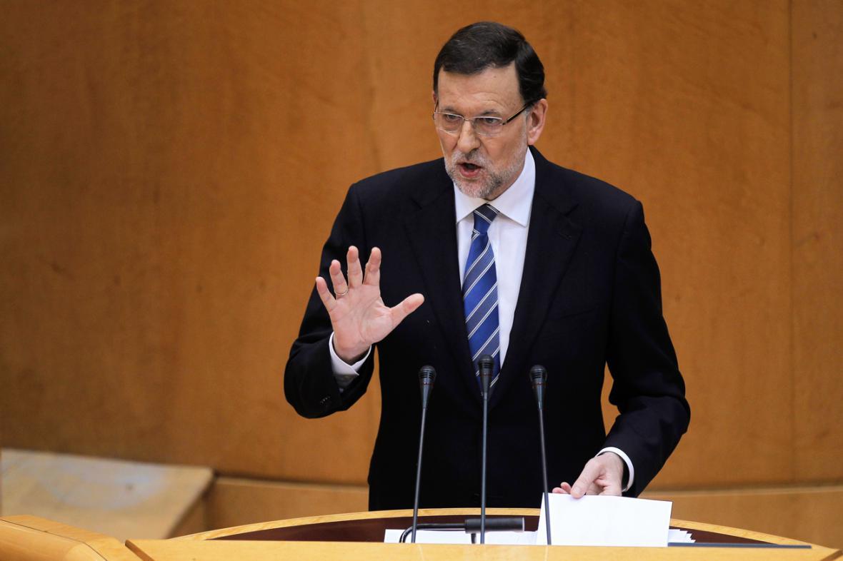 Mariano Rajoy vystoupil v parlamentu ke korupční kauze
