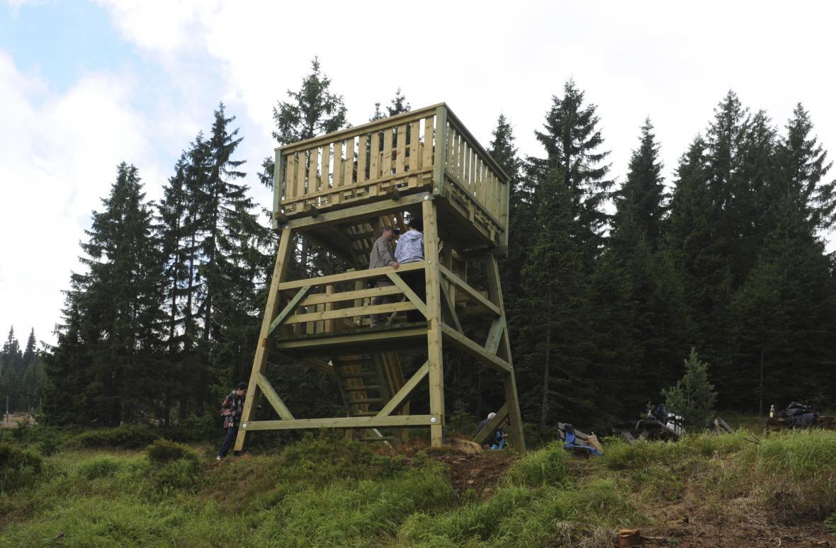Vyhlídková věž na Zelené hoře