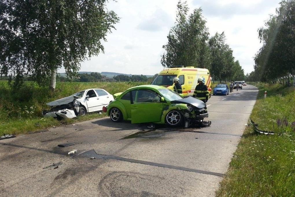 Nehoda u Veselí nad Moravou