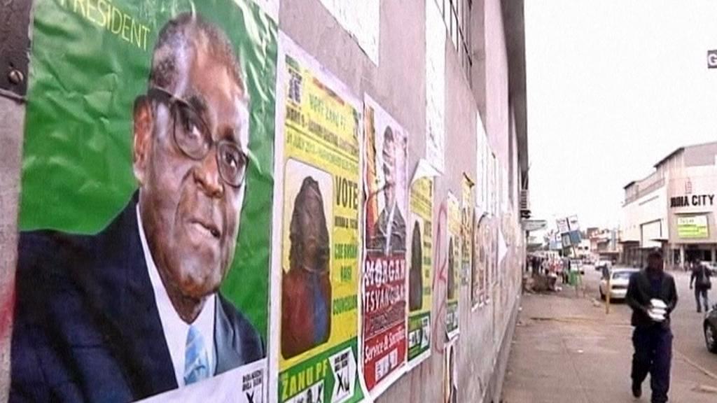 Předvolební kampaň v Zimbabwe