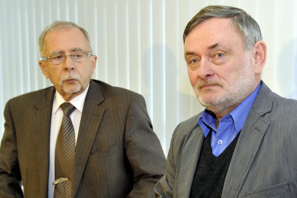 Stanislav Křeček a Pavel Varvařovský