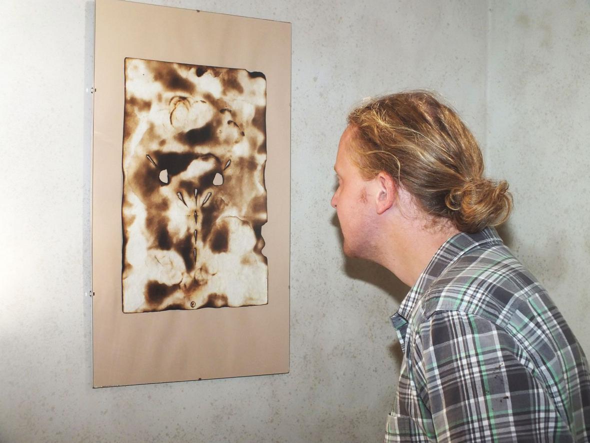 Z výstavy Svatopluka Klimeše v Boskovicích