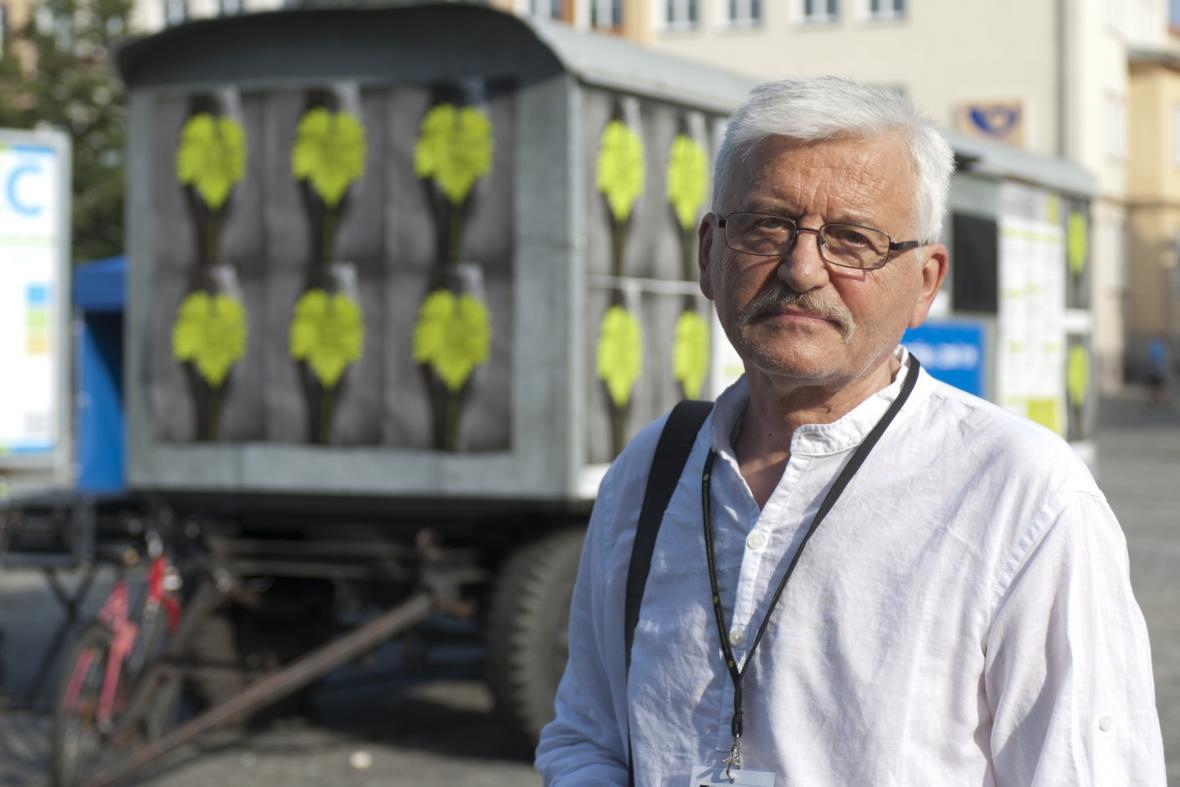 Dušan Hanák na LFŠ