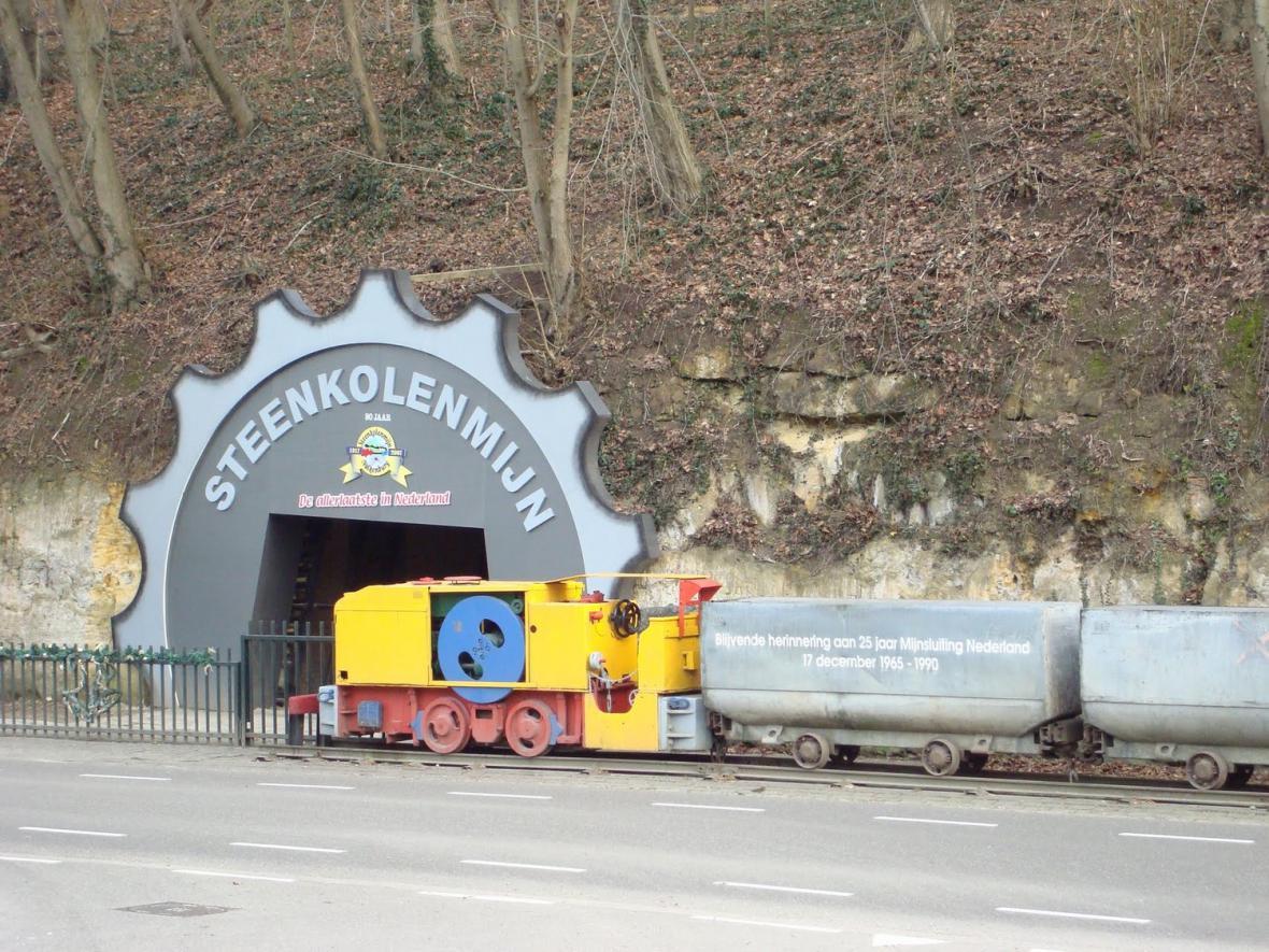 Muzeum těžby uhlí v nizozemském Valkenburgu