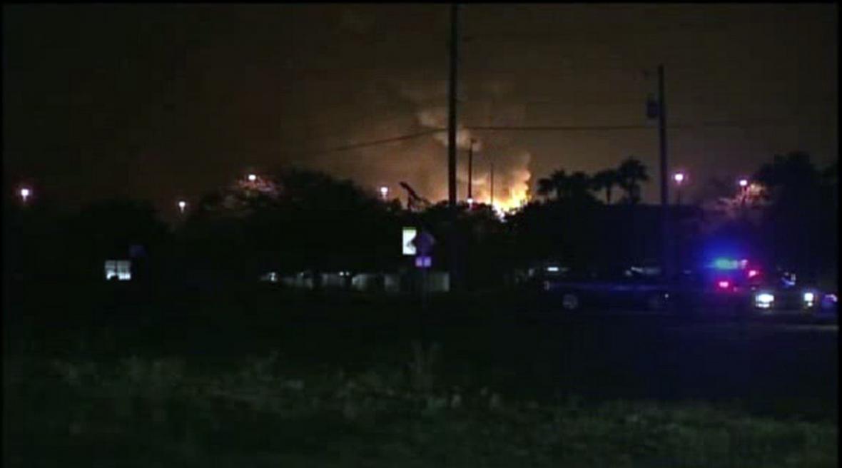 Výbuch v Orlandu