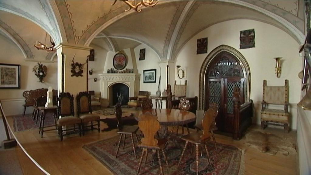 Restaurátorské práce na zámku v Hradci n. Moravicí