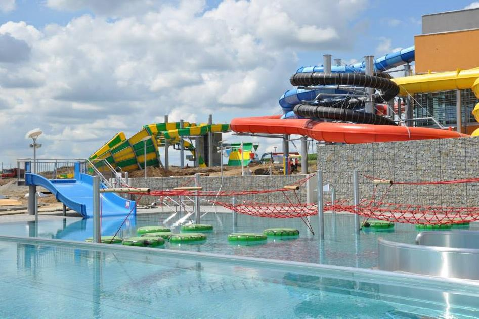 Návštěvníkům se akvapark otevře od srpna