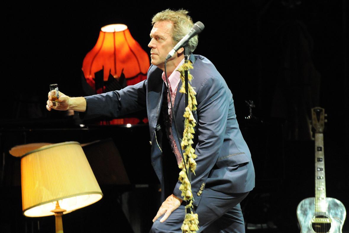 Hugh Laurie, Kongresové centrum Praha, 27.7.2013