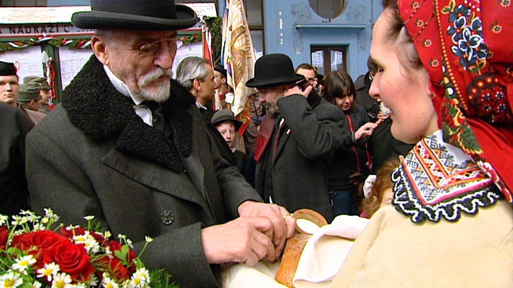 Martin Huba v roli T. G. Masaryka