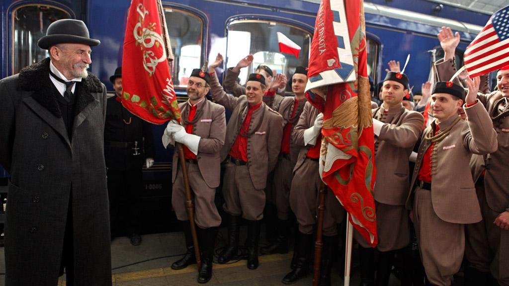 Příjezd TGM do Prahy