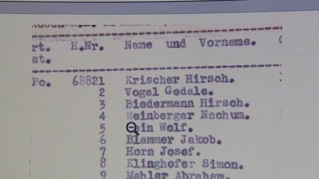 Schindlerův seznam se dostal do aukce