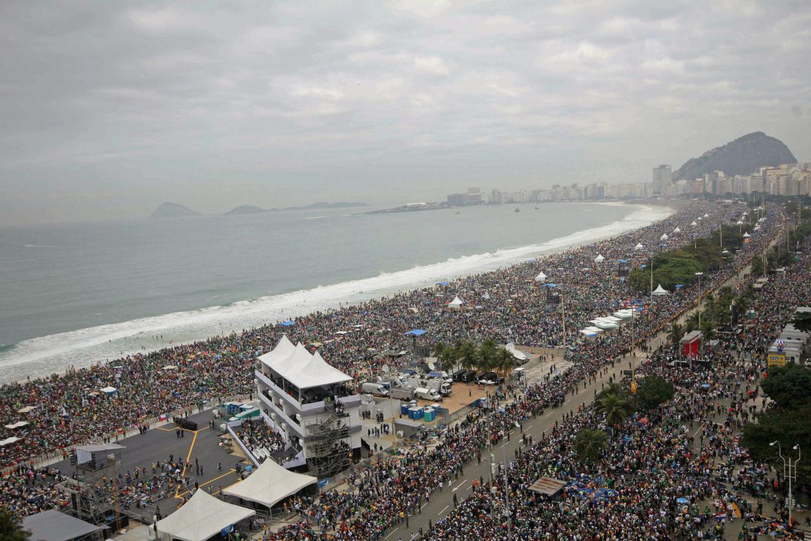 Světové dny mládeže na Copacabaně