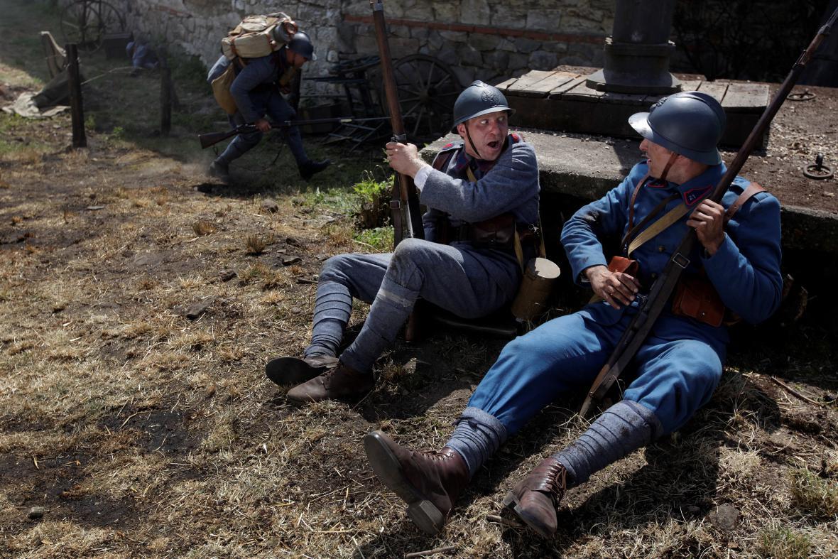 Natáčení seriálu První republika