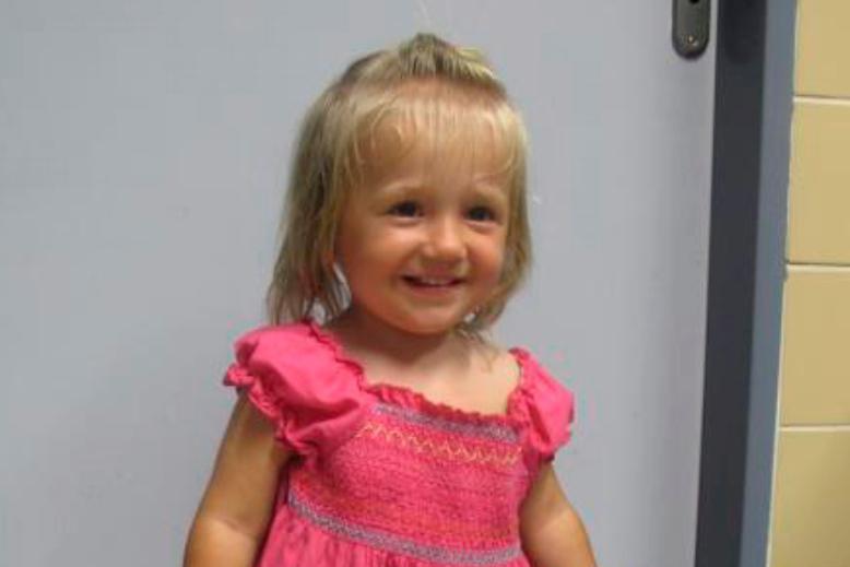 Nalezená dvouletá holčička