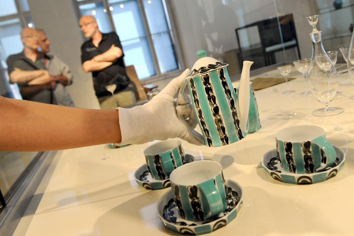 Cena porcelánu se odhaduje na několik tisíc eur