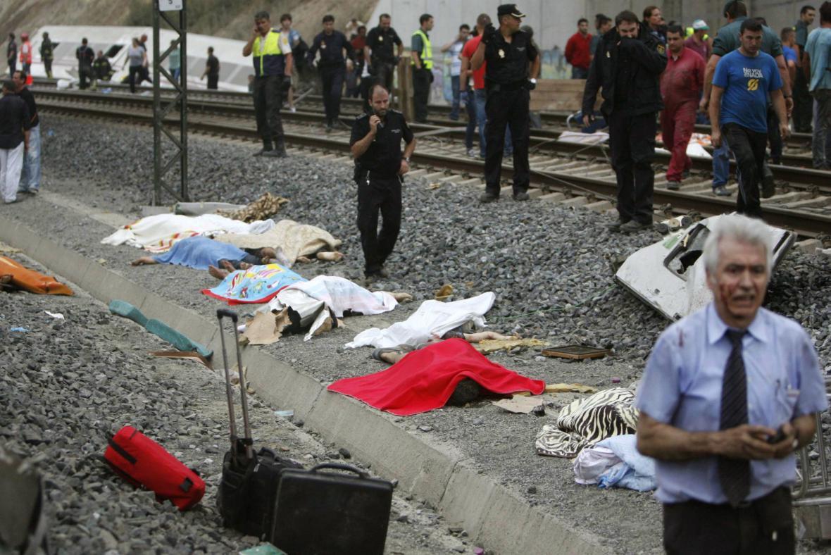 Železniční neštěstí ve Španělsku