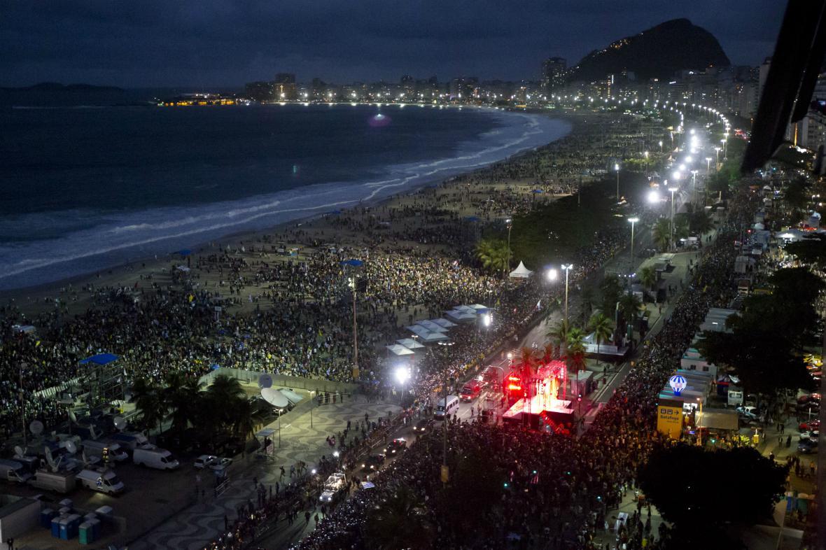 Rio de Janeiro hostí Světové dny mládeže