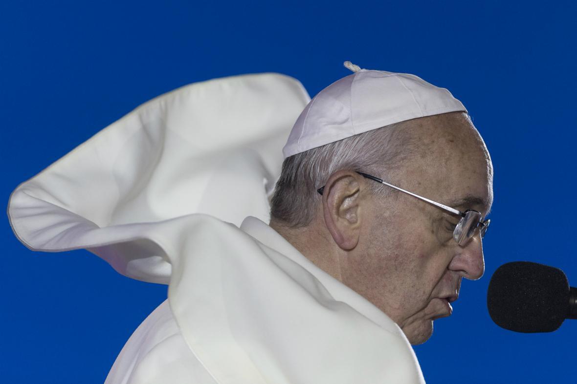 František na Světových dnech mládeže