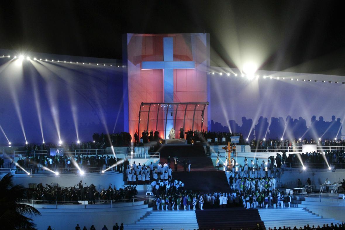 Světové dny mládeže - křížová cesta