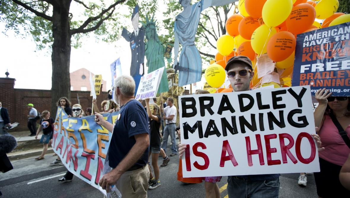Pochod na podporu Bradleyho Manninga