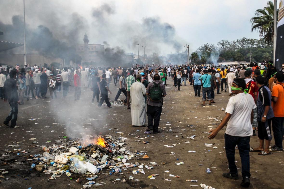 Násilí v Egyptě