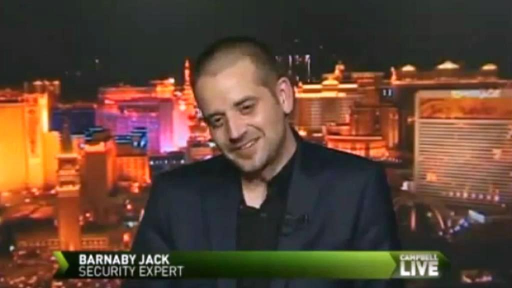 Hacker Barnaby Jack
