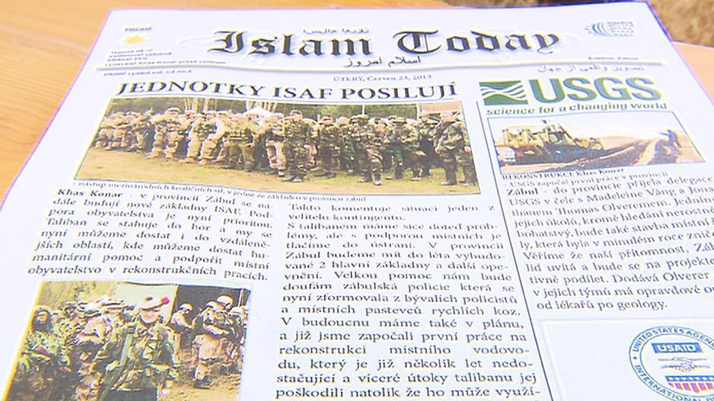 Speciálně vydávané noviny na airsoftové akci Protector 2013