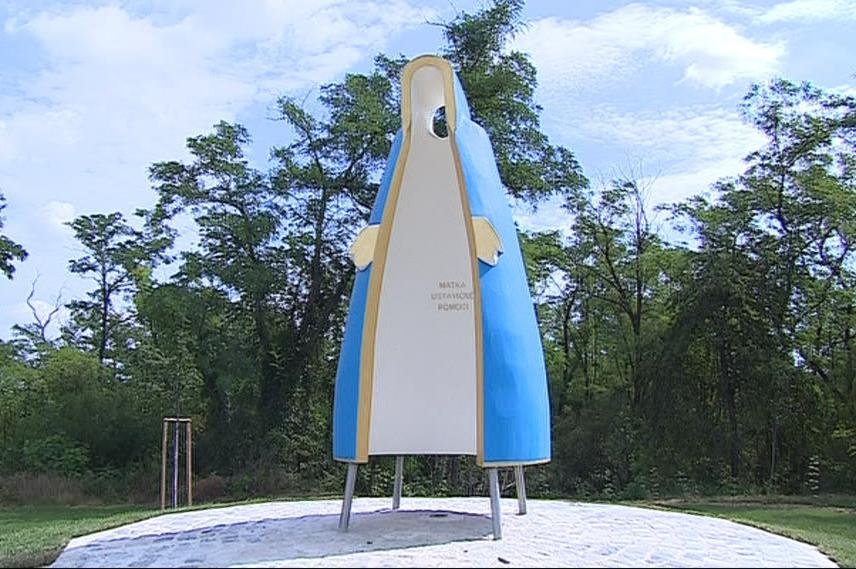 V Morašicích na Znojemsku vznikla moderní kaple