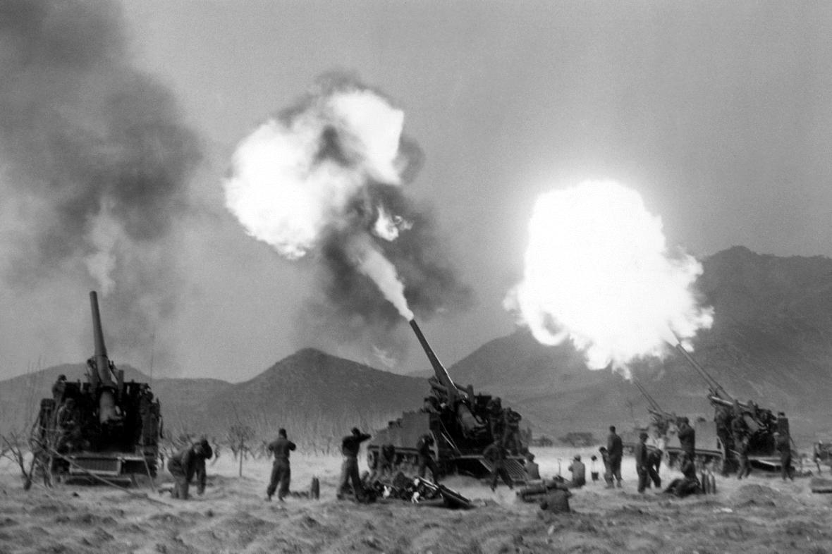 Výsledek obrázku pro válka v koreji