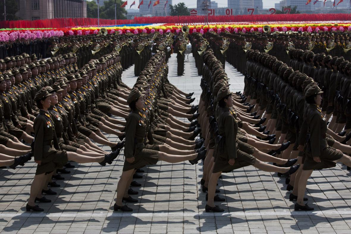 Oslavy 60. výročí konce války v KLDR