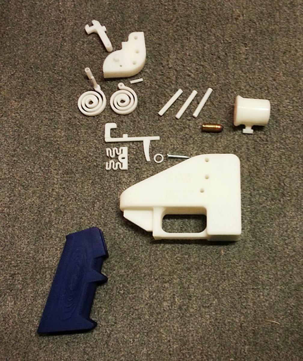 Zbraň z 3D tiskárny