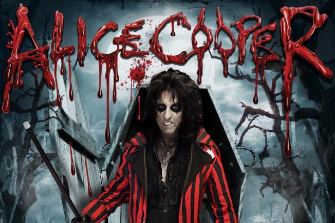 Plakát k turné Alice Coopera